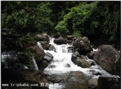 岱仙瀑布 - 景點展示
