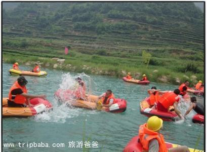 大竹溪漂流 - 景點展示