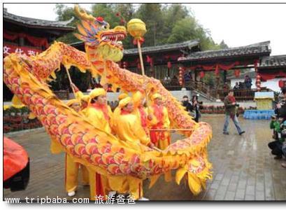 五龍村 - 景點展示