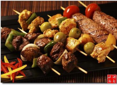 烧烤食材配菜 - 景点展示