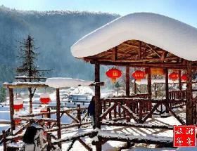 【冰雪盛宴】哈尔滨、亚布力激情滑雪、中国雪乡、爸爸去哪大雪谷、巴洛克双飞5日游[11月发团]